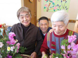 春のお花で笑顔いっぱい(妙高)