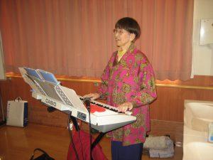 [七瀬の杜] 童謡と唱歌を愛する会のコンサートでした(^^)