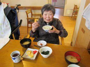 七草粥食べました(妙高)