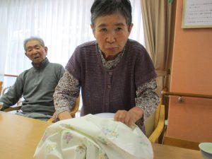 シーツ交換  【デイサービスセンター七瀬】