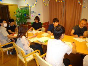 【七瀬の杜】職員学習会