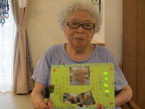 8月のお誕生日~まゆ松代~