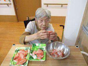 様々なお手伝い ~グループホームまゆ篠ノ井~