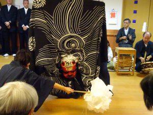 【七瀬の杜】獅子舞