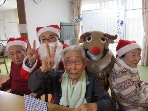 クリスマス会~グループホームまゆ篠ノ井~