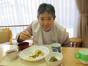 ひな祭りメニュー♪【デイサービスセンター七瀬】