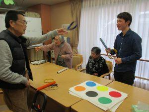 学生ボランティアさんと一緒に【デイサービスセンター七瀬】