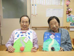 亀の色紙飾り♪【デイサービスセンター七瀬】