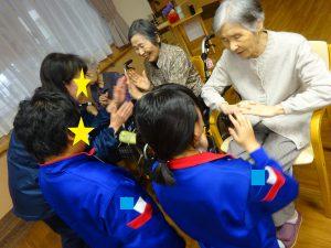 【七瀬の杜】中学生さんとの交流会
