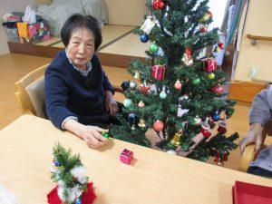 クリスマス飾り♪【デイサービスセンター七瀬】
