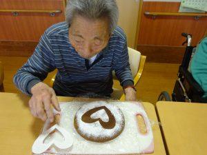 【七瀬の杜】ケーキ作り