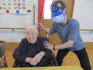 節分イベント~グループホームまゆ篠ノ井~