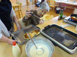 【七瀬の杜】ホットケーキ