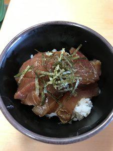 【七瀬の杜】マグロ漬け丼