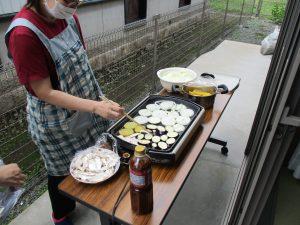 焼肉パーティー~グループホームまゆ篠ノ井~